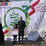 غرفه مجموعه مدارس سلام در ۲۲ بهمن ماه ۹۶
