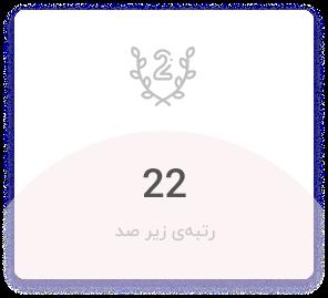 رتبه دو رقمی مجموعه مدارس سلام