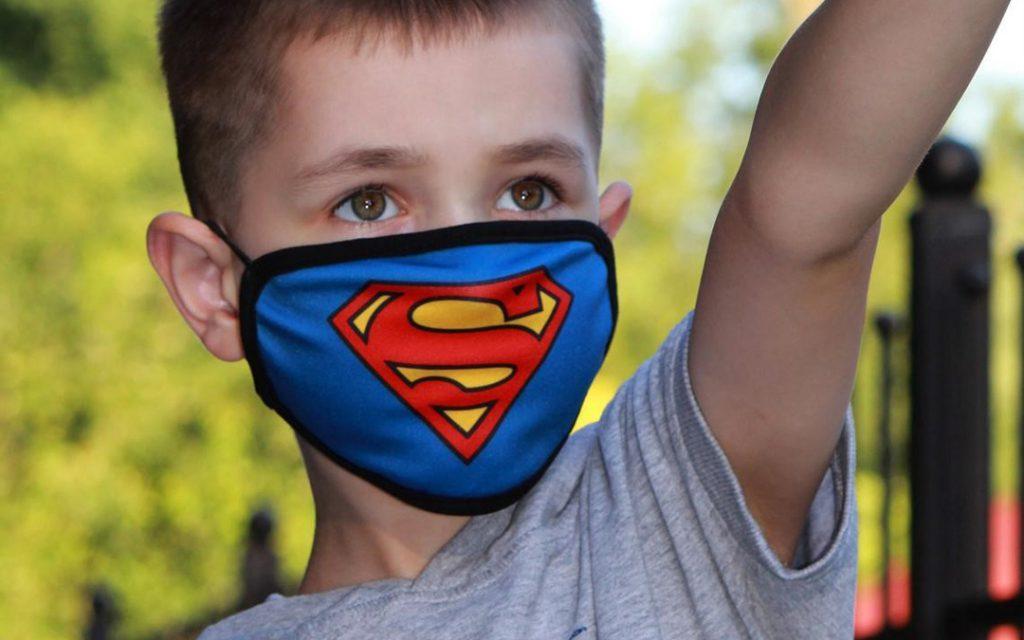 اموزش ماسک به کودکان