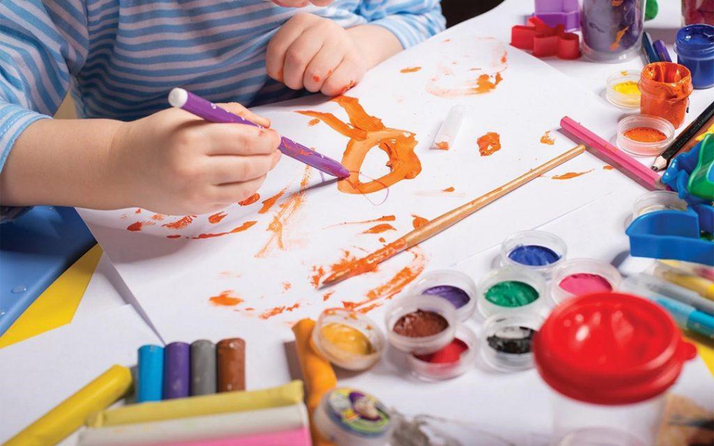 اهمیت «هنر» در تحول کودکان