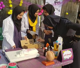 جشن ورودی متوسطه اول دخترانه