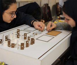 مسابقات پژوهشی دخترانه دبیرستان سلام