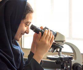 مسابقات پژوهشی مدارس متوسطه اول دخترانه